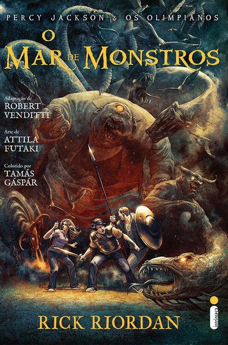 O Mar de Monstros em quadrinhos